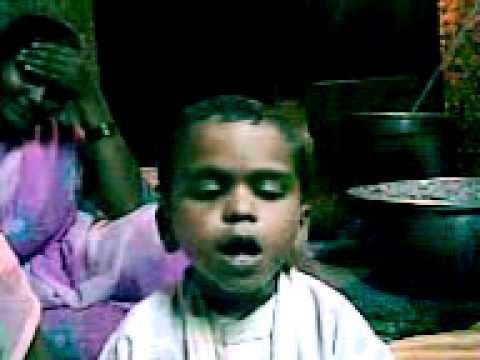 Visaru nako re aai bapala, small boy