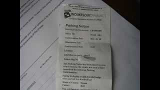 Parking ticket extortion phone call. no contract ! we do it my way!
