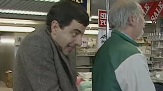 Gambar cover Sneaky Bean | Funny Clips | Mr Bean Official