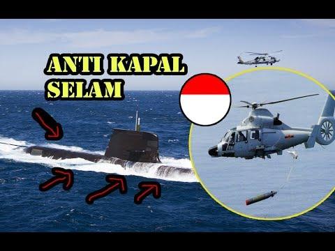 ASEAN KAGUM HANYA INDONESIA yang MAMPU Produksi HELIKOPTER ANTI KAPAL SELAM TNI AL