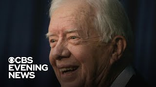 Jimmy Carter set to become the oldest living president in U.S. history