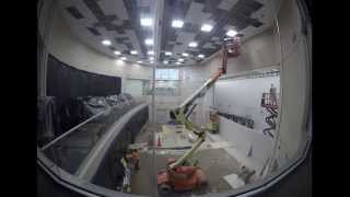FDOT District Six  Traffic Management Center Completes Control Room Update (Time Laps)