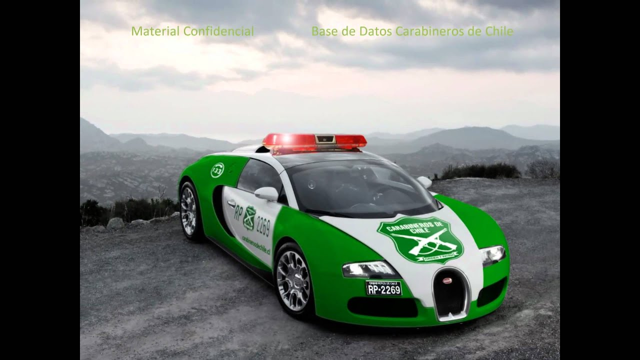 Bugatti Veyron de Carabineros de Chile (Need For Speed: Hot Pursuit ...