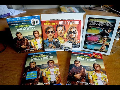 Unboxing All The Exclusive Editions Of Once Upon A Time In Hollywood !!!