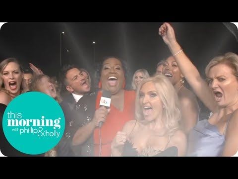 Alison Hammond Goes Behind the Scenes at the NTAs   This Morning