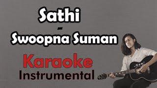 Saathi - Swoopna Suman Ft. Kiran Nepali | Karaoke