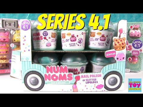 Num Noms Series 4 4.1 Blind Bag Opening Playset Pack Toy Review | PSToyReviews
