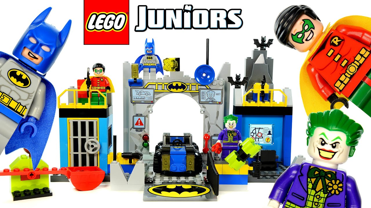 lego juniors batman defend the batcave 10672 instructions