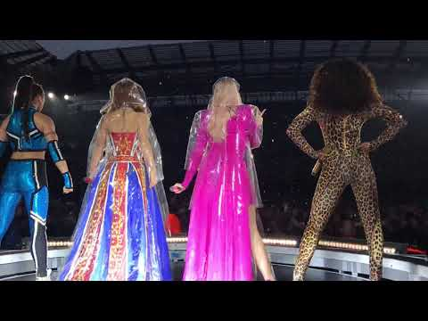 Spice Girls - Spice Up Your Life Opening  at Manchester Etihad Stadium Spice World Tour 2019