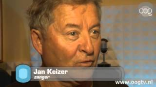 Jan Keizer zingt voor Waterlooshow