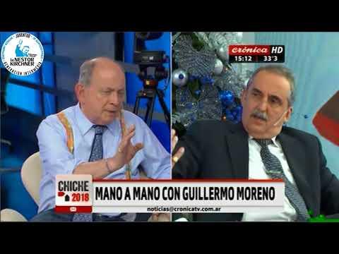 Guillermo Moreno en Cronica TV 08/12/17