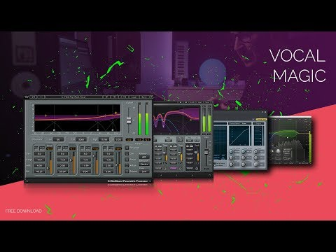 Multi-band compression on vocals /// Free presets for C4 / C6 / Studio One / Fabfilter