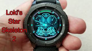 Samsung Gear S3/Gear Sport Skeleton Watchfaces by Belvek - FREE Coupon Giveaway! Jibber Jab Reviews!
