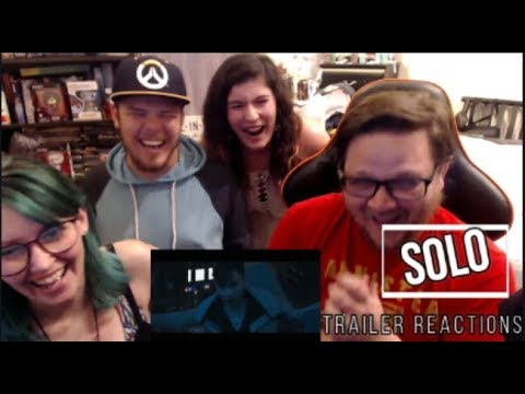 Solo: A Star Wars Story Official Trailer Reactions WITH GEEKHOUSE