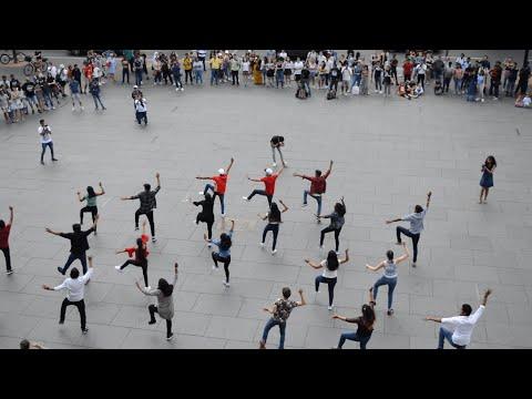 Bollywood Flashmob In Germany 2019 (Braunschweig) | Marana Mass, Shape Of You, Chogada Tara