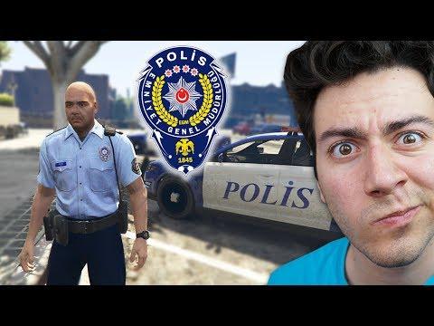TÜRK POLİS MODU (GERÇEK HAYAT GTA 5)