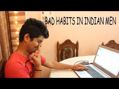 BAD HABITS IN INDIAN MEN | Crazy Duksh
