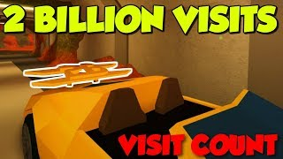 Roblox Jailbreak Live Visit Count | Countdown To 2 BILLION Visits | Segment 4 🔴