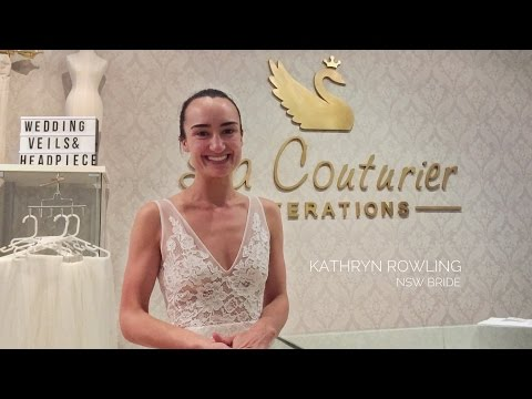 Made With Love dress altered by La Couturier Alterations for Australian bride Kathryn Rowling