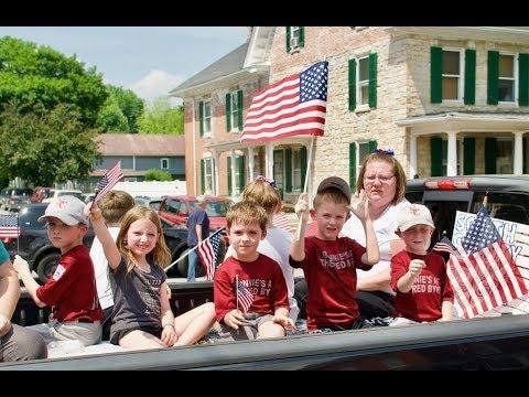 Sharpsburg Memorial Day Parade 2018 in 4k UHD