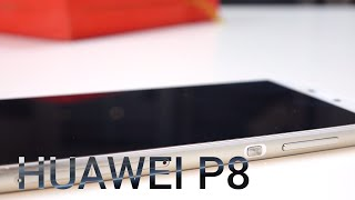 HUAWEI P8 Unboxing & Hands-on (deutsch)