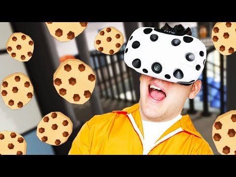 Cookie King! - Prison Boss VR Gameplay - VR HTC Vive