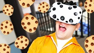 Cookie King! - Prison Boss VR Gameplay - VR HTC Vive