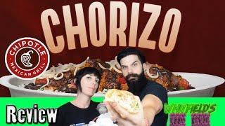 Chipotle - NEW Chorizo Burrito - REVIEW!