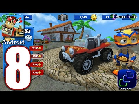 Beach Buggy Racing Android Walkthrough - Part 8 - Chowder Bowl 8 - Boss