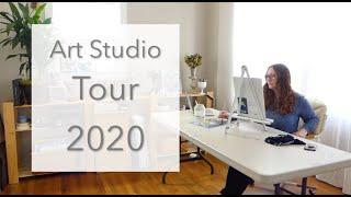 Studio Tour!  E6, S1 of *Open Studio*