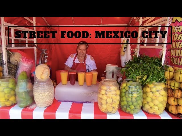 STREET FOOD IN MEXICO CITY: Tamales, Tacos and Tortas ... Oh, my!