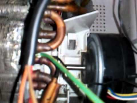 Air Conditioner Fan >> Byta motor på panasonic luftvärmepump - YouTube