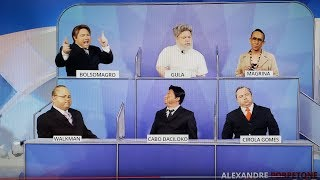 Vazou o Debate no SBT !