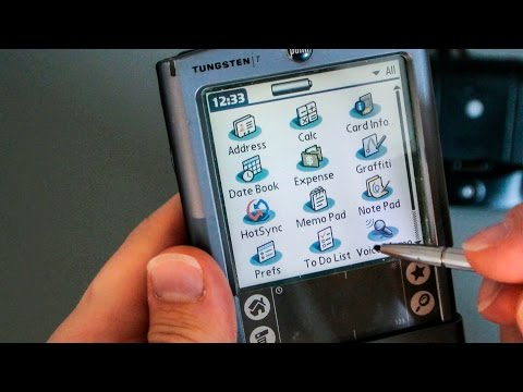 #7 Zerlegung: Palm Tungsten T PDA