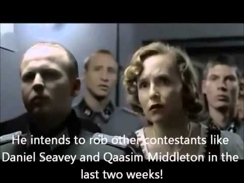 Hitler's reaction to Joey Cook being eliminated from American Idol