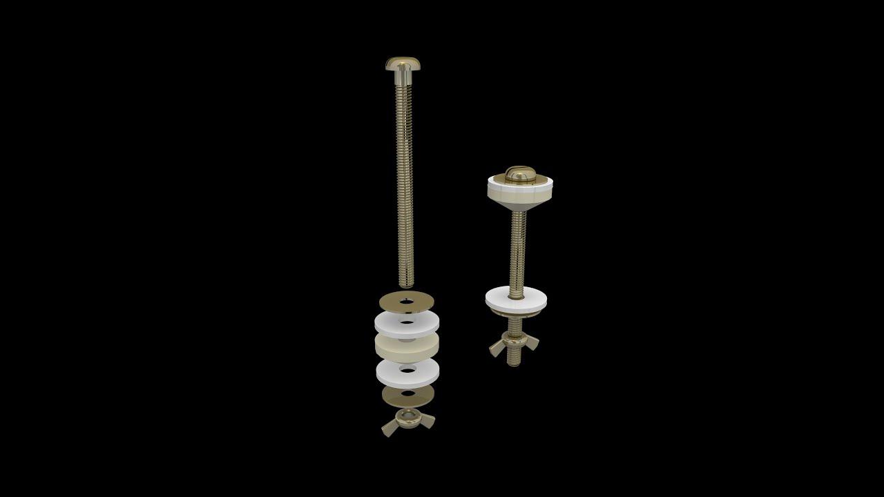 Reparar cisterna wc montaje set de tornillos sujeci n for Reparar cisterna wc