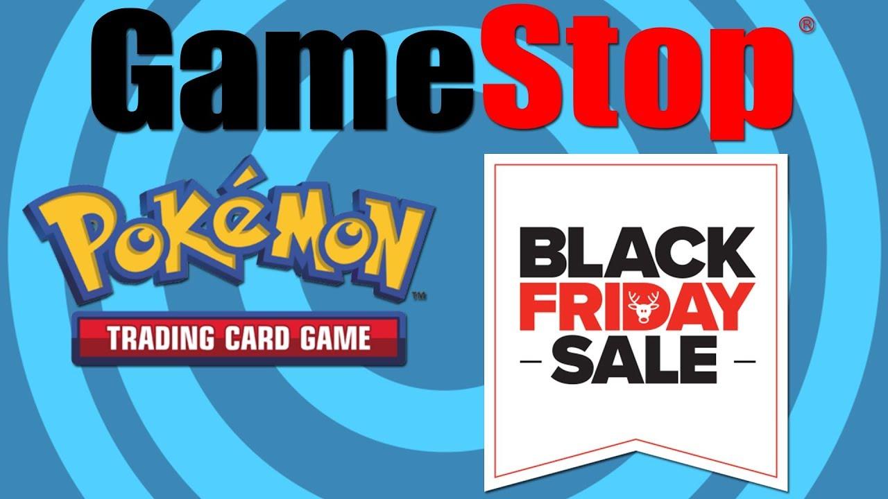 Pokemon Gamestop Black Friday Sale Opening Youtube