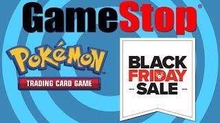 Pokemon Gamestop Black Friday Sale Opening!