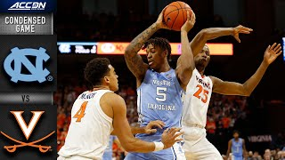 North Carolina vs. VirginiaCondensed Game | 2019-20 ACC Men's Basketball