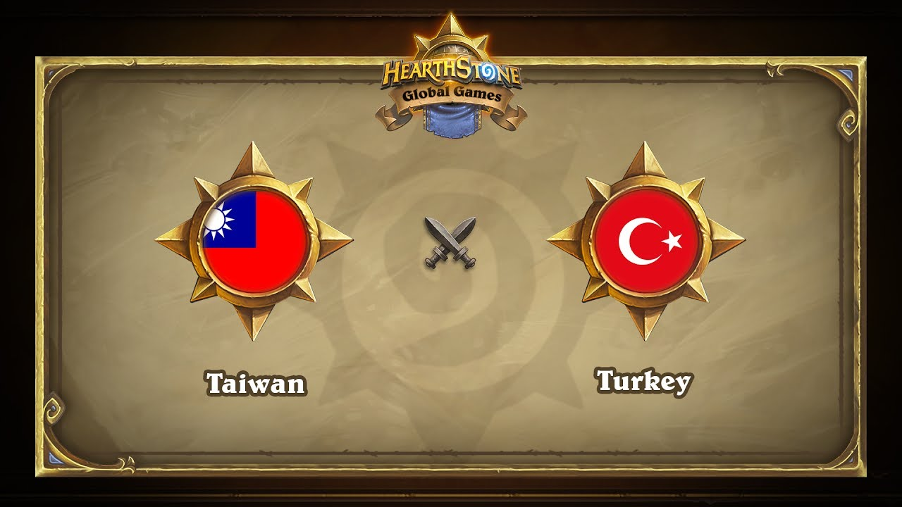 Тайвань vs Турция | Taiwan vs Turkey | Hearthstone Global Games (13.06.2017)