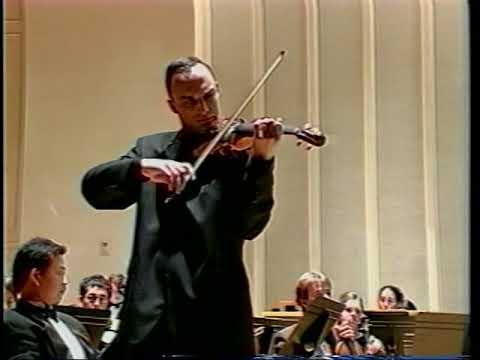 D. Shostakovich - Violin Concerto No.1 in a minor, op.77, 3rd, 4th Mov. - Yaroslav Rudnytsky