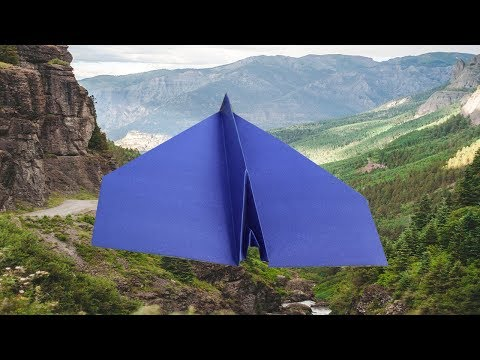 how to make World best paper airplane step by step - paper planes that fly 1000 feet