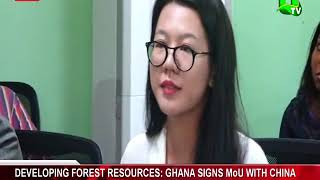 Developing Forest Resources: Ghana Signs MOU With China