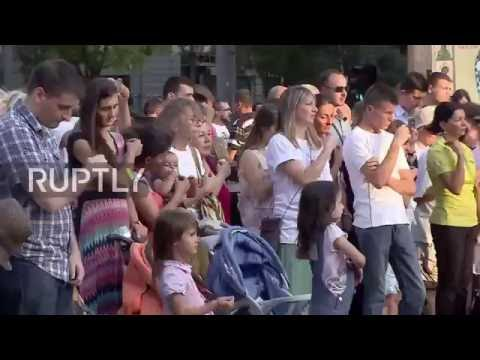 Serbia: Christian groups rally against Belgrade's pride parade