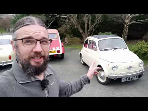 This Fiat 500 is ELECTRIC! What's it like to drive?