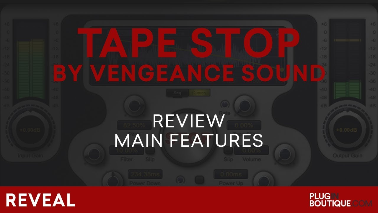 Tape Stop Plugin by Vengeance Sound | The Best Pitch Effect/FX