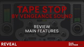 Tape Stop Plugin by Vengeance Sound | The Best Pitch EffectFX