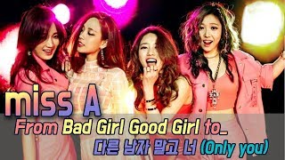 [60FPS] History of miss A, From Debut to the 'Only you' (10 songs) - Stafaband