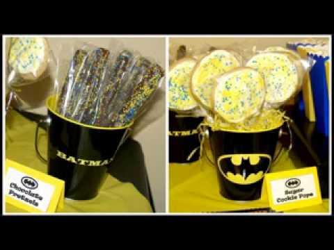 Cool Batman birthday party ideas