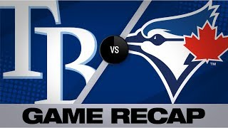 Hernandez hits walk-off home run in the 12th | Rays-Blue Jays Game Highlights 7/27